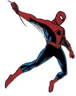 Spider-Man. Copyright Marvel Comics.