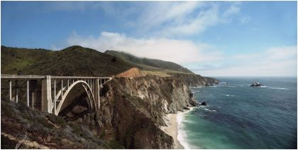 Bixby Bridge Gigapixel image