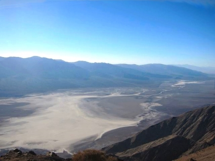 A view across Death Valley