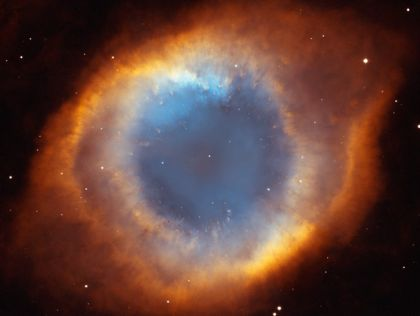 The Helix Nebula composite from the Hubble telescope. Often called The Eye of God.