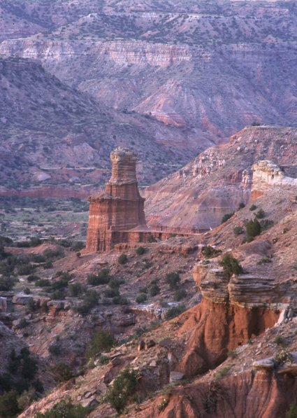 Palo Duro Canyon Lighthouse Rock Formation